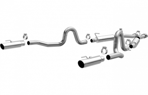 1999 - 2004 Mustang GT Exhaust  - 1999 - 2004 Mustang GT Cat Back Exhaust