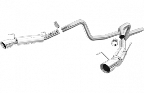 2007 - 2014 Shelby GT500 Exhaust  - 2007 - 2014 Shelby GT500 Cat Back Exhaust