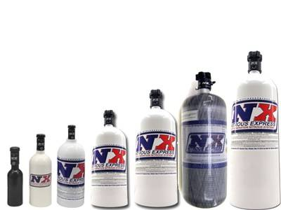 Nitrous Systems and Components - Nitrous Bottles