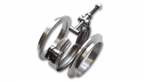 V-Band Flanges and Clamps - Stainless Steel V-Band Assemblies