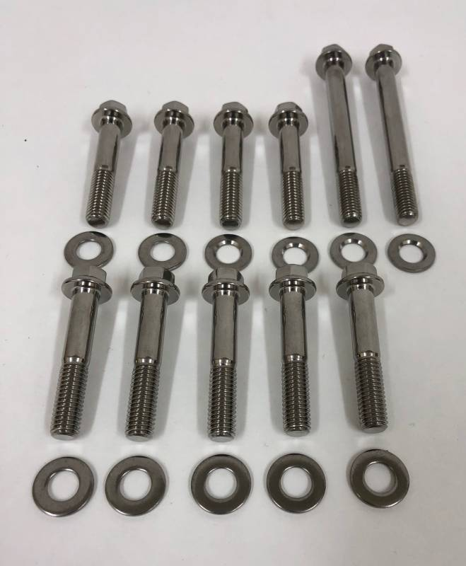 MHS ARP Stainless Steel Intake Manifold Bolt Kit for 2V