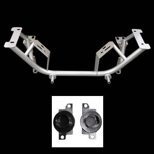 UPR - UPR 2005-96-SP 1996-2004 Ford Mustang Tubular Chrome Moly K Member with Spring Perches