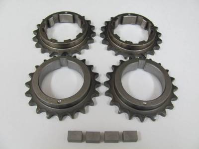 Modular Head Shop - MHS Billet Steel Adjustable 4V Secondary Camshaft Sprocket Kit