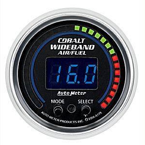 "Autometer - Auto Meter 6178 Cobalt Digital 2 1/16"" PRO Wideband A/F Kit"