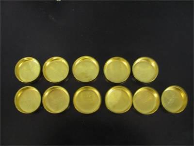 Modular Head Shop - Brass Freeze Plug Set For 4.6L Teksid Aluminum Blocks