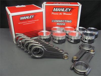 Excessive Motorsports  - 4.6L Manley Street Master Pistons / Manley H-Beam Connecting Rods Combo