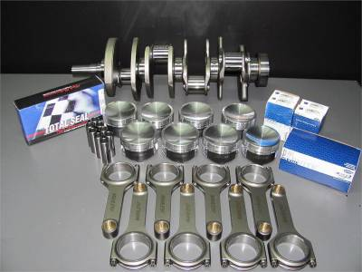 Modular Head Shop - Modular Head Shop 1000 HP 5.0L Coyote Rotating Assembly - Boss 302 Forged Crankshaft, Manley 4340 H-Beam Rods and Manley Pistons