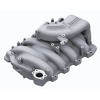 Trick Flow Specialties - Trick Flow TFS-51800000 Street Burner Intake Manifold - Silver Powdercoat