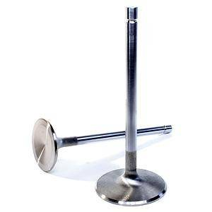 Manley - Manley Race Master Stainless Steel Exhaust Valves - 5.0L Coyote - 32mm - Bead Loc® Groove