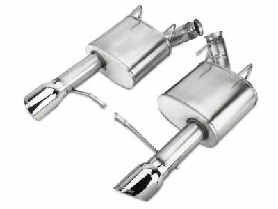 Corsa - Corsa Performance 14317 2011 - 2014 Mustang GT Xtreme Axle-Back Exhaust