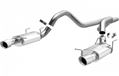 Pypes - Magnaflow 15589 2011 - 2012 Mustang GT / Shelby GT500 Street Series Cat-Back Exhaust