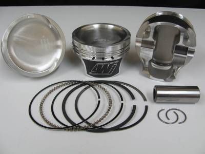 "Wiseco - Wiseco K0087X2 - 4.6L 2V Piston / Ring Kit -13cc Dish, 3.572"" Bore"