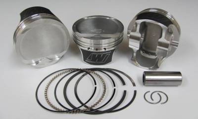 """Wiseco - Wiseco K0084X2 - 5.0L Coyote Piston / Ring Kit -2cc Flat Top, 3.650"""" Bore"""