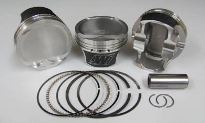 """Wiseco - Wiseco K0085X1 - 5.0L Coyote Piston / Ring Kit +2cc Dome, 3.640"""" Bore"""
