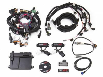 Holley - Holley 550-616N - HP EFI ECU and Harness Kit - 99-04 Ford Modular 4.6L 2V w/ NTK WBO2