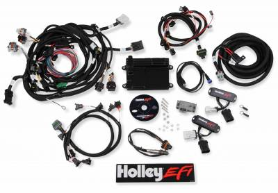 Holley - Holley 550-617 - HP EFI ECU and Harness Kit - 99-04 Ford Modular 4.6L 4V w/ Bosch WBO2