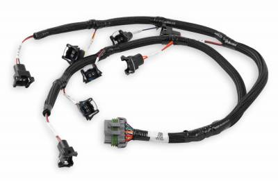 Holley - Holley 558-213 - Ford V8 Injector Harness for Jetronic / Minitimer Style Injectors