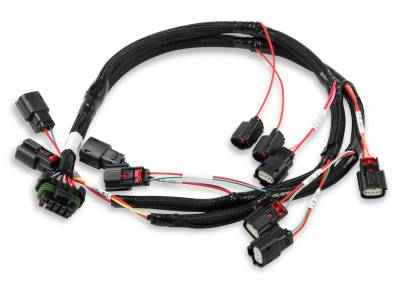 Holley - Holley 558-317 - Ford 5.0L Coyote Ignition Coil Harness for HP and Dominator EFI