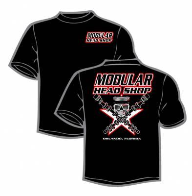 Excessive Motorsports  - Modular Head Shop Men's Skull T-Shirt