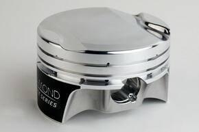 "Diamond Racing Products - Diamond 30318-RS - Mod2k Race Series Piston / Ring Set for Ford 4.6L 4V  -1.8cc Flat Top, 3.572"" Bore, 3.543"" Stroke, 5.933"" Rod Length, 1.220"" CD"