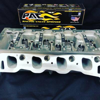 Modular Head Shop - MHS Assembled TFS Twisted Wedge 185cc 2V Cylinder Head Package