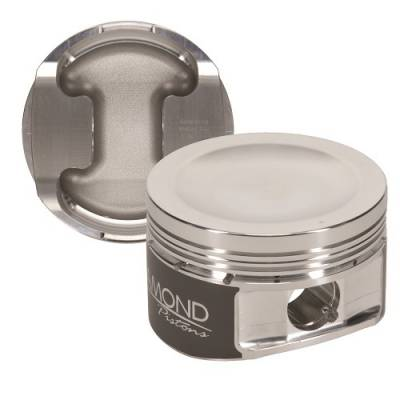"Diamond Racing Products - Diamond 30435-R1 Ford 5.4L Competition Series Piston / Ring Kit -11.5cc Dish, 3.572"" Bore"