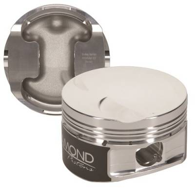 """Diamond Racing Products - Diamond 30402-R1 Ford 4.6L 2V Competition Series Piston / Ring Kit -1.5cc Flat Top, 3.572"""" Bore"""