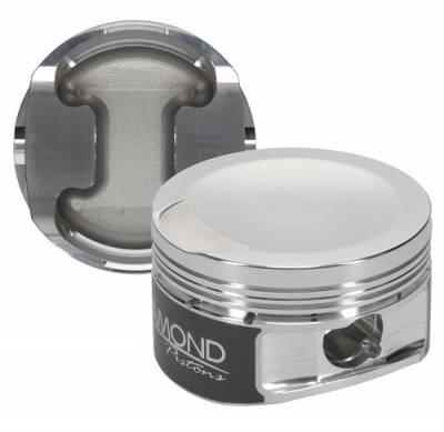 "Diamond Racing Products - Diamond 30429-R1 Ford 4.6L 3V Competition Series Piston / Ring Kit -5.0cc Dish, 3.572"" Bore"