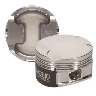 "Diamond Racing Products - Diamond 30420-R1 Ford 4.6L 4V Competition Series Piston / Ring Kit -7.5cc Dish, 3.572"" Bore"