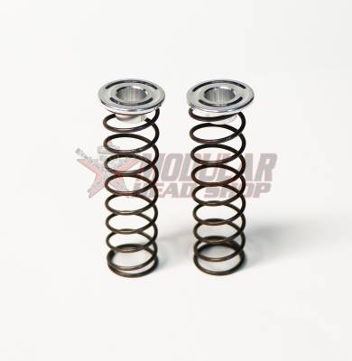 Modular Head Shop - Modular Head Shop 6mm Aluminum Checking Retainers with Springs - Pair