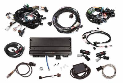 Holley - Holley 550-1316 - Terminator X Max Ford Mod Motor 2V Kit with Transmission Control