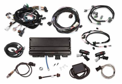 Holley - Holley 550-1317 - Terminator X Max Ford Mod Motor 2V Kit with Transmission Control