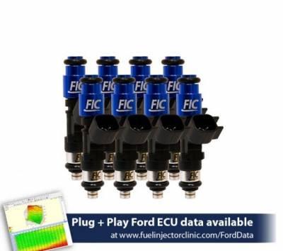 Fuel Injector Clinic IS402-0445H 445cc / 42lb Fuel Injectors for 87-04 Mustang GT and 93-98 Cobra