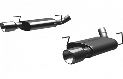 2007 - 2014 Shelby GT500 Axle Back Exhaust