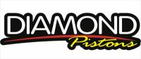 "Diamond Racing Products - Diamond 30343-RS - Mod2k Race Series Piston / Ring Set for Ford 5.0L Coyote  +1.8cc Dome, 3.650"" Bore"