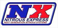 Nitrous Express - Nitrous Express 20946-10 - Ford 4.6L 2V Nitrous Plate System with 10lb Bottle (50-150HP)