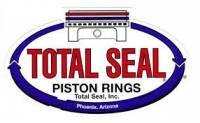 "Total Seal - Total Seal CR8264-25  Plasma Moly Piston Ring Set 1.5mm x 1.5mm x 3mm, 3.572"" Bore"