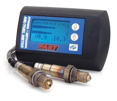 Air/Fuel Wideband Gauges - FAST - FAST Acohol Air/Fuel Meter (Dual Sensor)