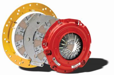 McLeod Racing - McLeod 6918-07 RXT Twin Disc Clutch Kit - 2007 - 2009 Shelby GT500 Includes Flywheel - 26 Spline
