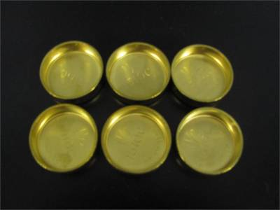 Modular Head Shop - Brass Freeze Plug Set for 3V Heads - Pair
