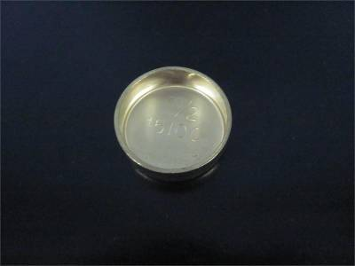 "Engine Parts - Freeze Plugs and Dowels - Modular Head Shop - Single 1 1/2"" Brass Freeze Plug - Fits 2000+ 4.6L WAP Aluminum Blocks"