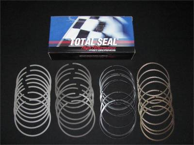 "Piston Rings - Total Seal Piston Rings  - Total Seal - Total Seal CR8264-25  Plasma Moly Piston Ring Set 1.5mm x 1.5mm x 3mm, 3.572"" Bore"