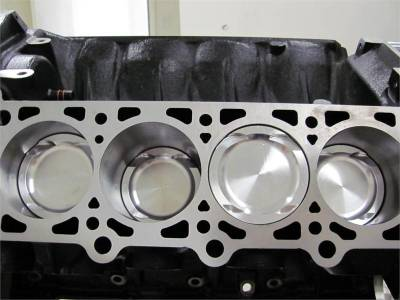 Engines - Short Blocks - Modular Head Shop - Modular Head Shop Boss 5.0L Big Bore Billet Pro Series Short Block
