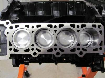 Engines - Short Blocks - Excessive Motorsports  - Modular Head Shop 5.4L Billet Pro Series Short Block