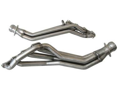 "BBK - BBK 16490 07-12 Mustang GT500 5.4L 4V Longtube Headers - 1-3/4"" - Polished Ceramic Finish"