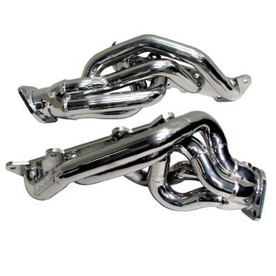 "2011+ Mustang GT 5.0L Exhaust  - 2011 - 2014 Mustang GT 5.0L Headers  - BBK - BBK 1632 11-14 Mustang GT 5.0L Coyote Shorty Headers - 1-3/4"" - Chrome Finish"