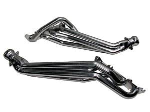 "2011+ Mustang GT 5.0L Exhaust  - 2011 - 2014 Mustang GT 5.0L Headers  - BBK - BBK 16330 11-14 Mustang GT 5.0L Coyote Longtube Headers - 1-3/4"" - Polished Ceramic Finish"