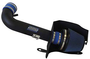 Cold Air Kits - 11-14 Mustang GT Cold Air Intakes  - BBK - BBK 17685 Cold Air Intake 11- 14 Mustang GT 5.0L - Blackout Series