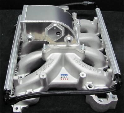 Intake & Components - Intake Manifolds - Modular Head Shop - MHS Edelbrock 4.6L 2V Intake Manifold Combo - 1999 - 2004