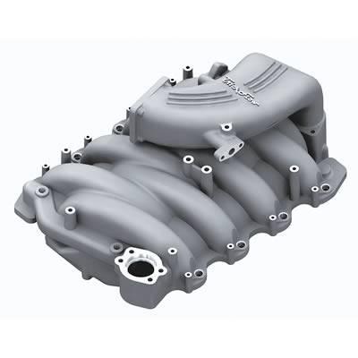 Intake & Components - Intake Manifolds - Trick Flow Specialties - Trick Flow TFS-51800000 Street Burner Intake Manifold - Silver Powdercoat